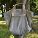 Carryall Natural with natural strap sizeM