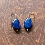 "MARY MACGILL  ""Lapis Drop Earrings"""