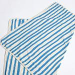 【SALE★30%OFF】BABY BLANKET BLUE STRIPE