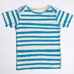 【SALE★50%OFF】KIDS T-SHIRT BLUE STRIPES