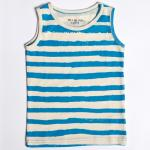 【SALE★50%OFF】KIDS TANK TOP BLUE STRIPES