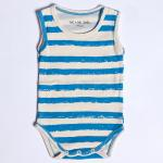 【SALE★50%OFF】BABY BODY BLUE STRIPE