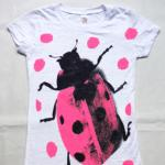 【SALE★50%OFF】LADY BUG   LONG T-SHIRTS