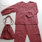 【SALE★30%OFF】 LANNY PYJAMAS DIABOLO RUSTY