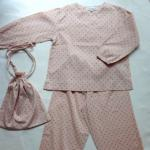 【SALE★30%OFF】 LANNY PYJAMAS DOT NUDE