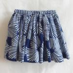 【SALE★50%OFF】KIDS SHORT SKIRT BLUE SUNSHINE