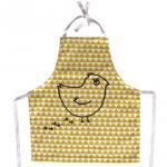 【SALE★30%OFF】Apron Kids Yellow